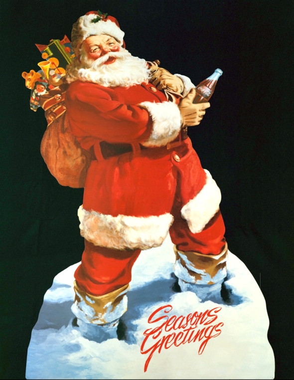 Coca-Cola-Art_Christmas_Santa4